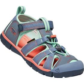 Keen Seacamp II CNX Chaussures Enfant, flint stone/ocean wave
